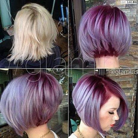 Прически на средние волосы окраска