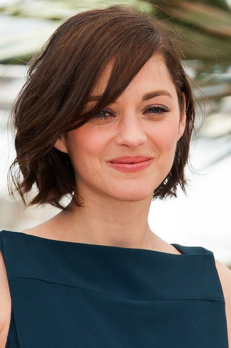 Short Hairstyles For Round Faces 2016