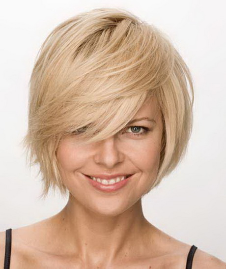 Short layered haircuts with bangs 2016