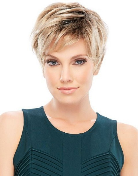 Trendy short hairstyles 2016 for thin hair discusses the hot ...
