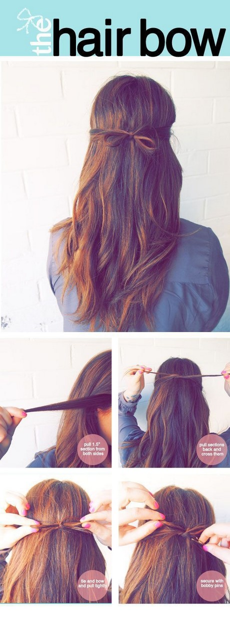 Cool Easy To Do Hairstyles