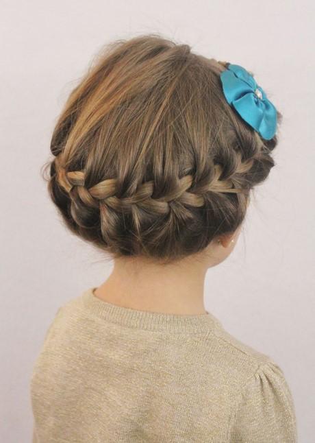 Easy hairdos for little girl