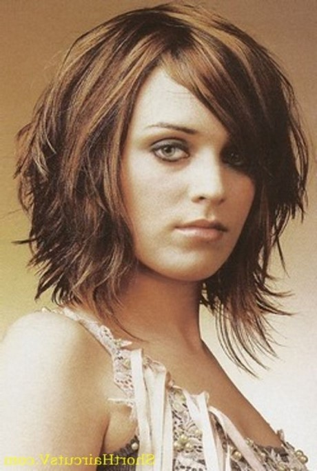 Easy to style medium length haircuts