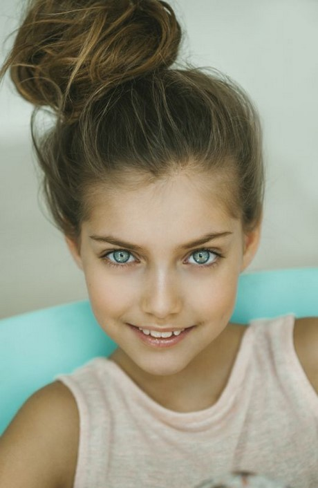 Hairstyle For 11 Year Girl