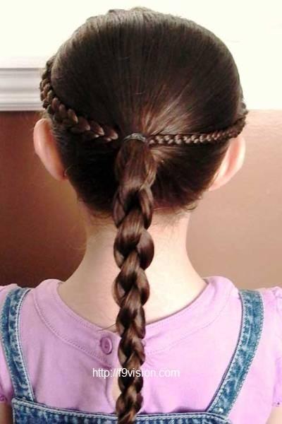 Little girl easy hairstyles