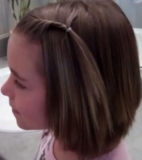 Little Girl Hairstyles For Short Hair
