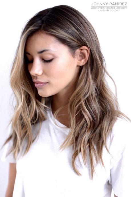 medium length brown hair