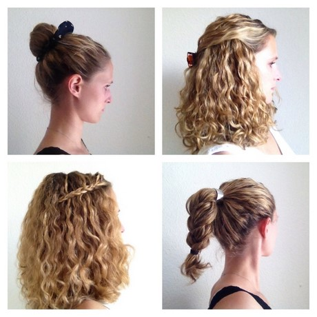 quick and easy hairstyles for wavy hair
