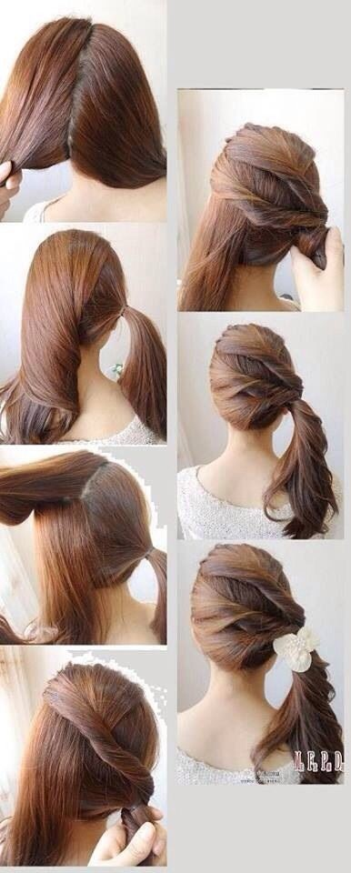 best Quick and Simple Hairstyle Pics Tutorial …