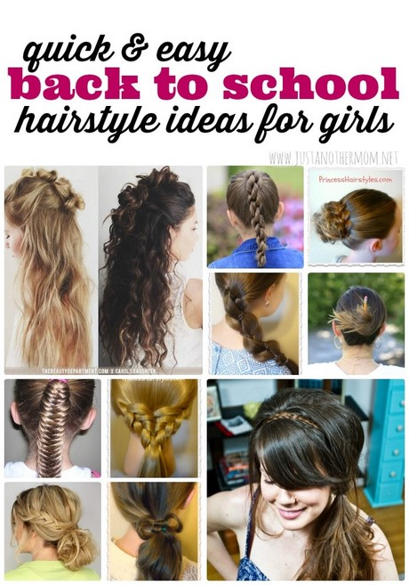 Easy Kid Hairstyles For Long Hair 242137 Quick Updos Kids 2018 Little