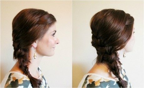 Funky Bairded Hairstyles For Party With Colored Hair Extensions Clip On Easy French Braid