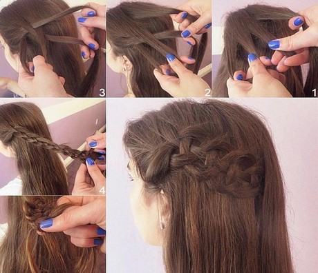 Simple Hair Style At Home