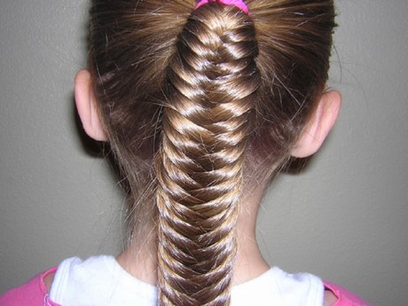 Simple Hairstyles For Kids Girls