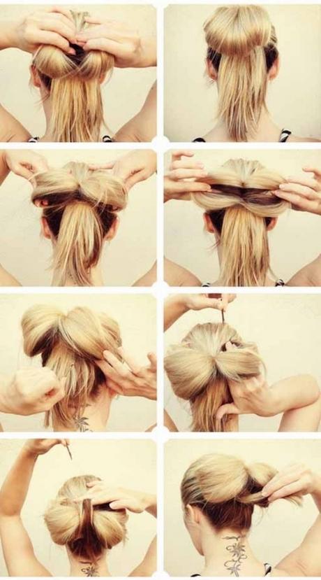 Cute simple hairstyles for medium hair - photo#50