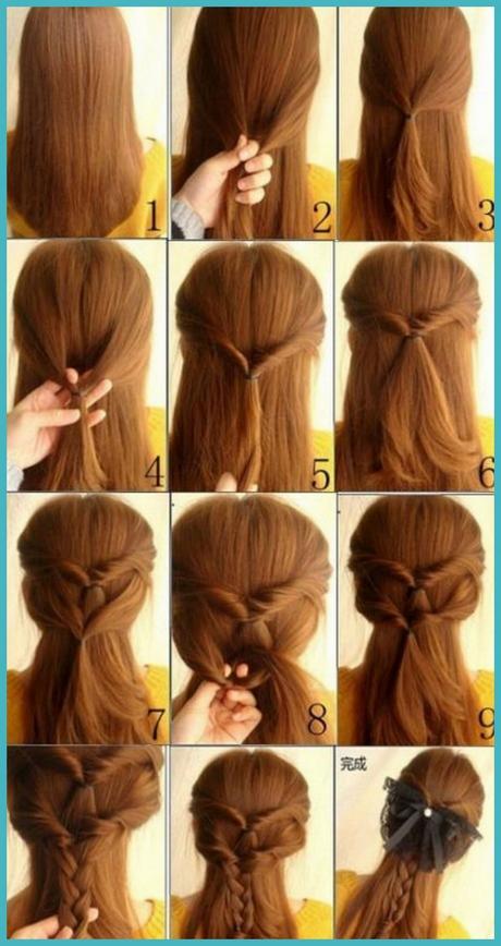 Cute simple hairstyles for medium hair - photo#35