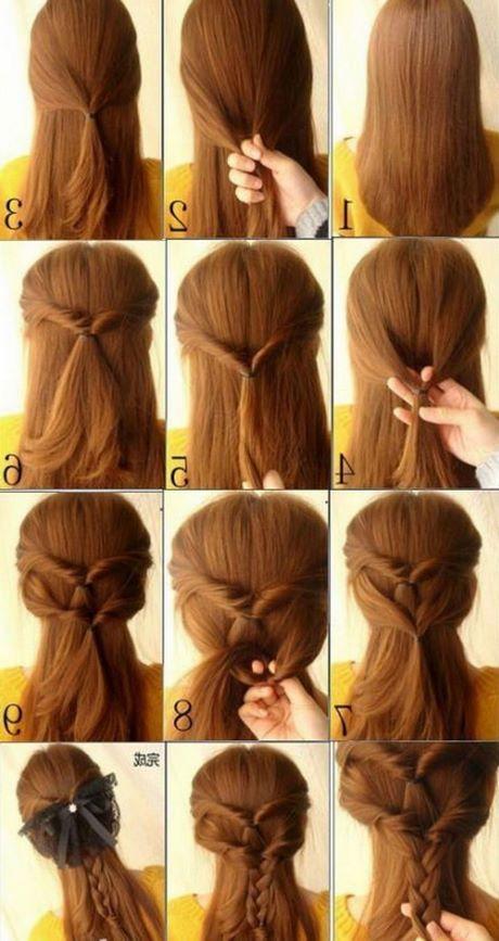 Cute simple hairstyles for medium hair - photo#10