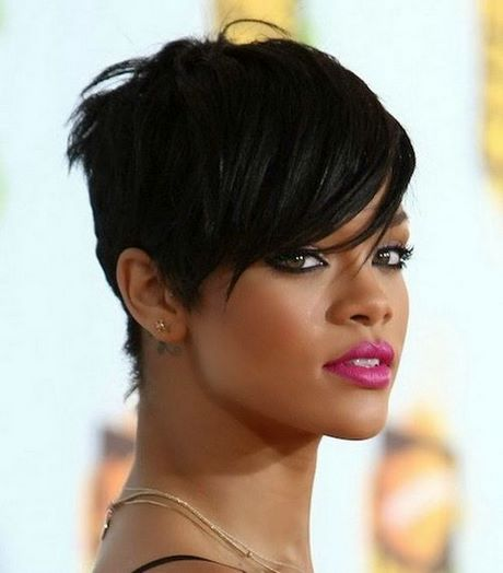 Black Celebrity Short Hairstyles