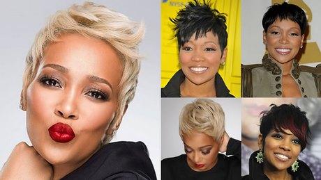 Black Ladies Short Hairstyles 2018
