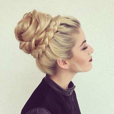 Bun Hair For Prom