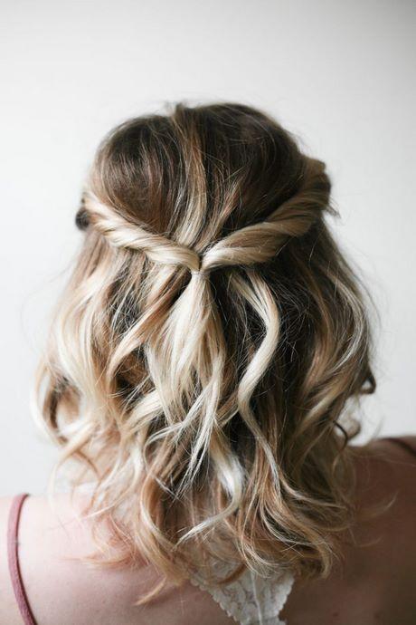 Easy Prom Updos For Short Hair