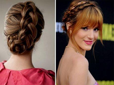 Fringe Updo Hairstyles