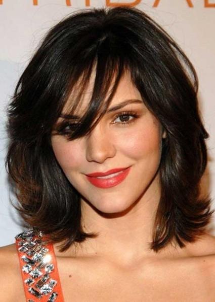 Haircut For Wavy Hair Round Face