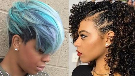 Latest Black Short Hairstyles 2018
