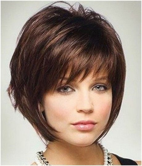 Latest Short Hairstyles For Round Faces