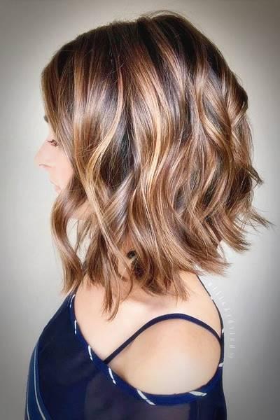 Medium style haircuts 2018