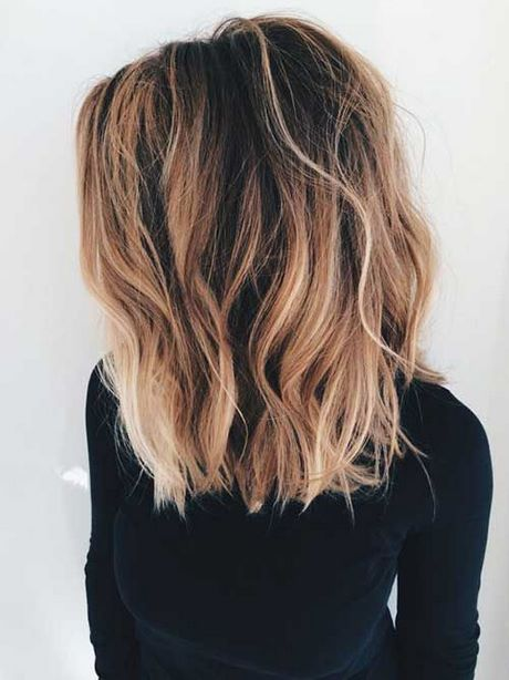 Middle Length Hairstyles 2018