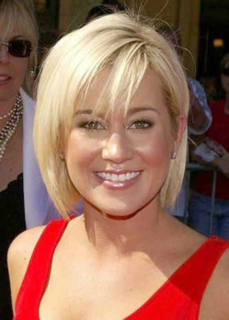 Modern Short Haircuts For Round Faces