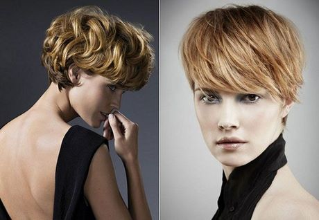 Modern Short Hairstyles For Round Faces