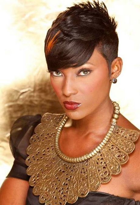 Pictures Of Short Black Haircuts