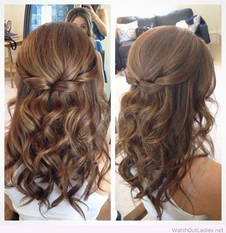 Prom Hairstyles For Long Hair Down Loose Curls