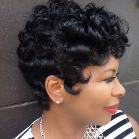 Short Cut Hairstyles Black Hair