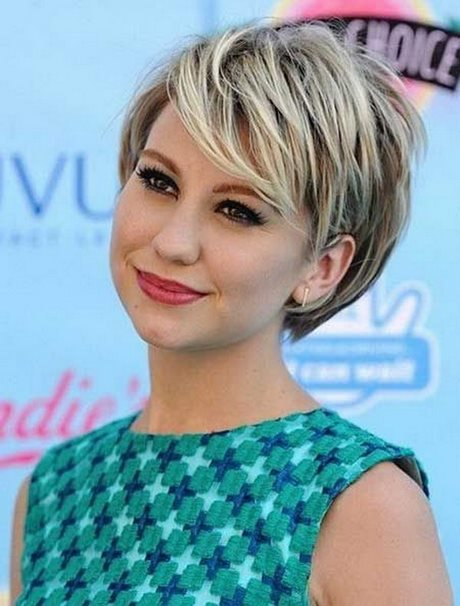 Short Full Haircuts Round Faces