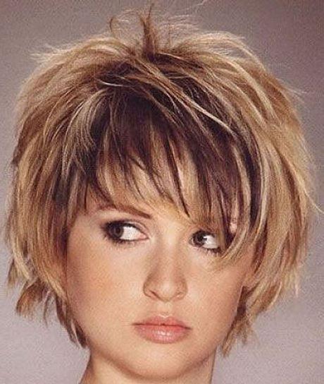 Short Haircut For Wavy Hair Round Face