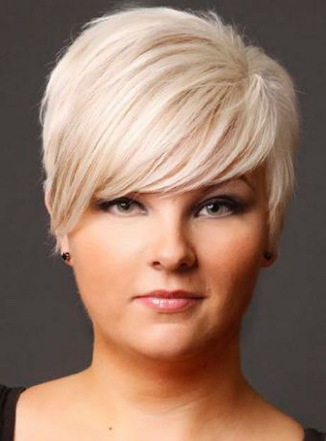 Short Haircuts For Fat Faces And Fine Hair