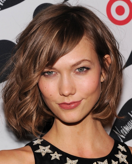Short Length Haircut For Round Face