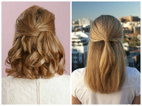 Simple Bridal Hairstyles For Medium Length Hair