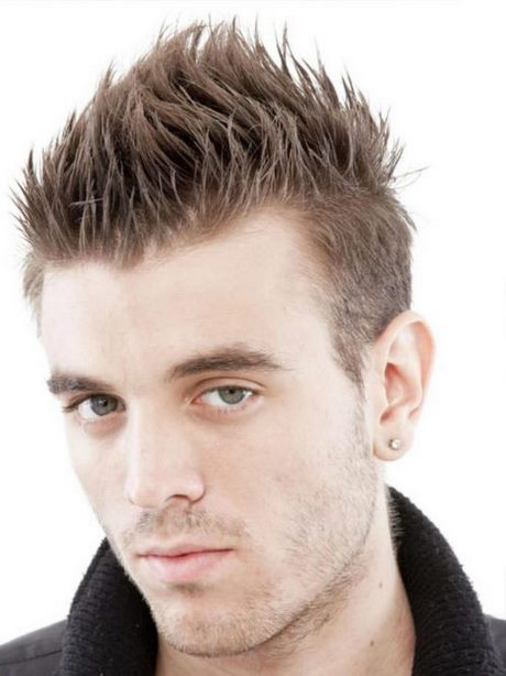 Spiky Hairstyle