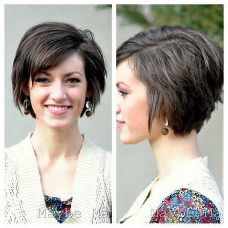 Flattering short haircuts - photo #44