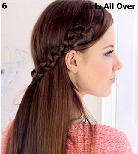 How to make hairstyle at home for girls step by step