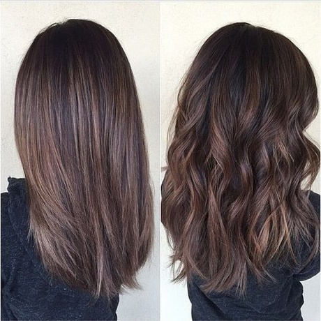 Brown Medium Length Hair