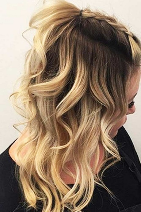 easy hairstyles medium hair