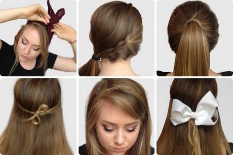 Easy Hairstyles Medium Length Hair