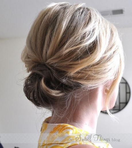 Easy Updos For Long Fine Hair