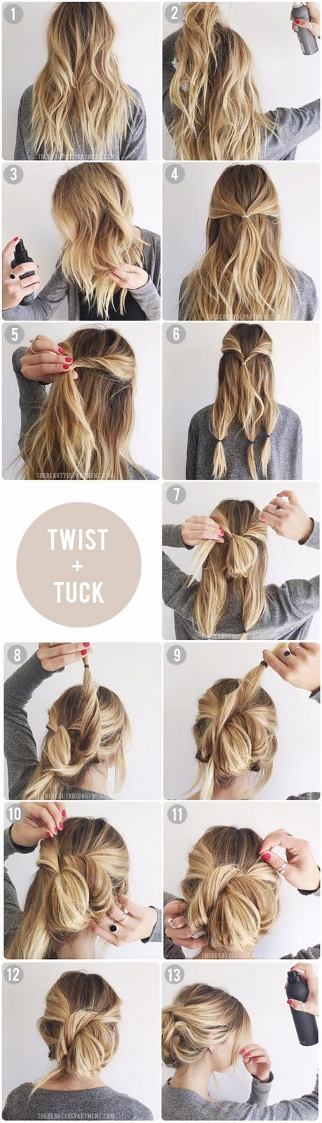 Easy Updos For Long Fine Hair
