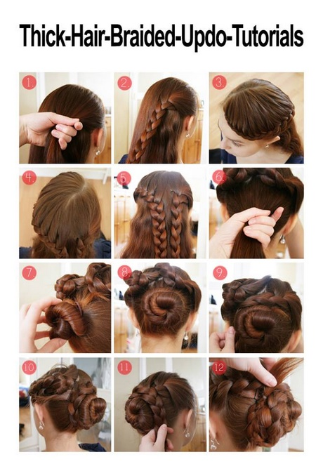 Easy Updos For Long Thick Hair