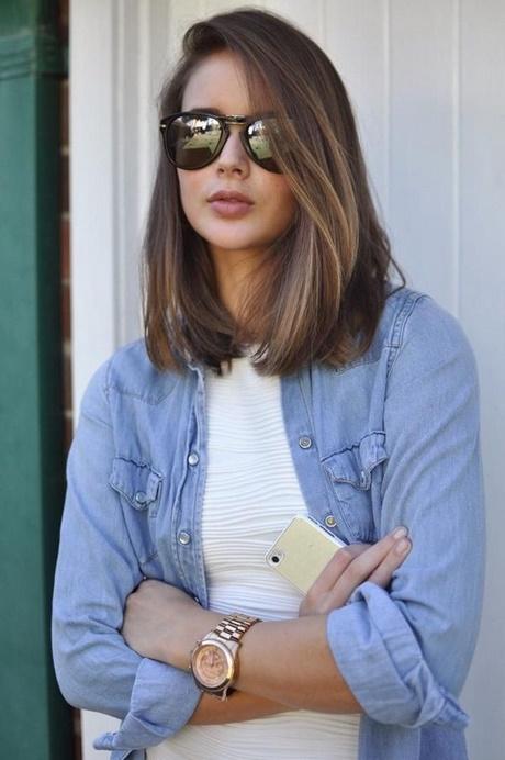 Shoulder length haircut ideas